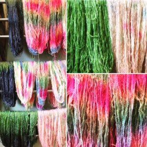 Love a towel rail of rainbows!
