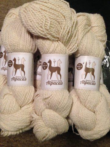 white alpaca/merino 8ply 4ply knitting yarn super soft