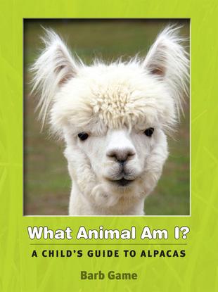 what animal am I? Kids Alpaca Book Hardcover