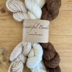 Beautiful Bundle Natural NZ Made Alpaca Yarn