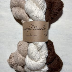 100% alpaca yarn 4ply natural colours