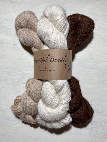 100% alpaca yarn 4ply natural colours