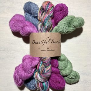 Beautiful Bundle Hand dyed 8ply alpaca/merino