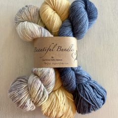 Grey/Yellow Bundle Yarn
